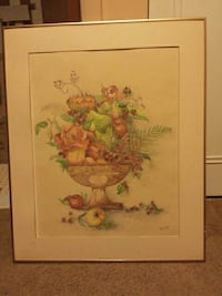 Canvas fruit basket picture by Gladys