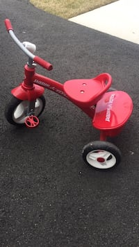 toddler's red Radio Flyer trike Chantilly, 20152