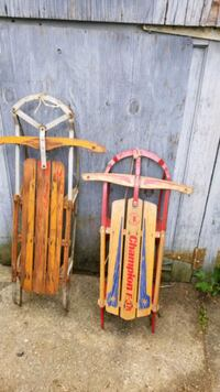 Vintage wooden sleds  West Chester, 19380