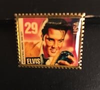 Elvis Postage Stamp Pin