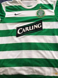 RARE !Celtic Men's Medium soccer Jersey Washington, 20037