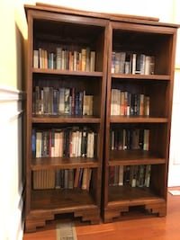 armoire with matching book shelves WASHINGTON