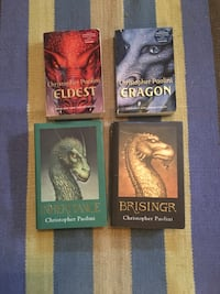 'Inheritance' book series by Christopher Paoloini - 4 books Calgary, T3G 1T5