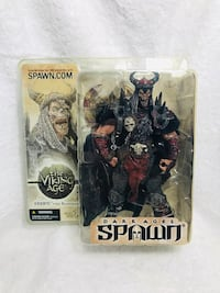 Spawn - Series 22 Viking Age:  Bloodaxe Ultra-Action Figure (SP-1) Daly City, 94014