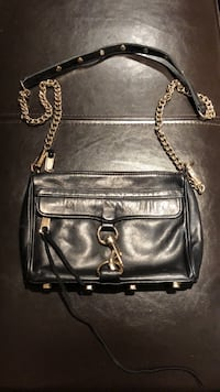 black leather 2-way bag Toronto, M6J 2K5