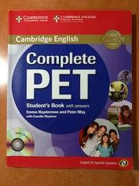 Student's Book Cambridge PET (B1) Ciudad Real, 13005