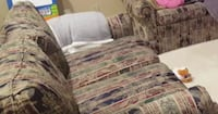 Free Sofa, Love Seat and Ottoman - Bought in Art Shoppe Vaughan