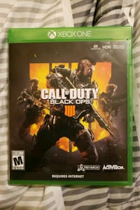 Call of Duty Black Ops 4 Xbox One Muskegon, 49440
