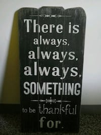 black and white wooden quote board Smithsburg, 21783