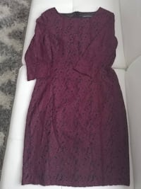 Simons purple lace dress  Edmonton, T6M 0S1