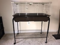 Small animal cage with stand and heat lamps Arlington, 22209