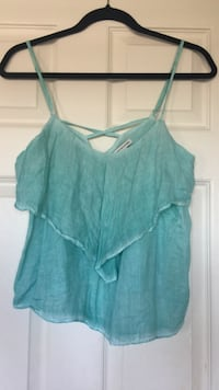Women's teal spaghetti strap top Mississauga, L5V 1Y5