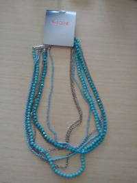 blue& silver beaded necklace was$11.50 Calgary, T3H 3K7