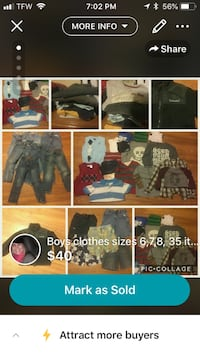 Boys Clothes (name brands) sizes 6-10 Rural Hall, 27045