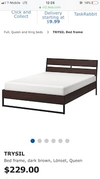 IKEA Trysil Queen Bed Frame & Base Baltimore, 21206