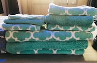 Lattice Print Bath Towel Set San Francisco, 94110