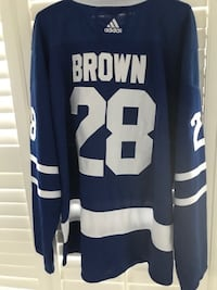 Connor Brown Toronto Maple Leafs New Jersey Mississauga