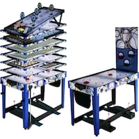 MD Sports 48 Inch 13-In-1 Multi-Game Combo Table, Accessories included Wilmington