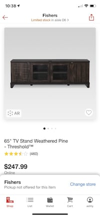 "NEW 65"" Media Console Indianapolis, 46239"