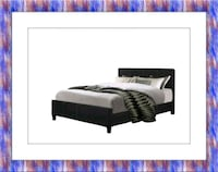 King platform bed free mattress and delivery Ashburn, 20147
