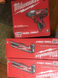Milwaukee m18 fuel cordless drill box Silver Spring, 20904