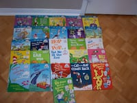 25 DR SEUSS hc books( 13 are CAT IN HAT LEARNING LIBRARY) Vaughan