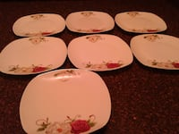 Plates  (7 for $20.00)  Burnaby