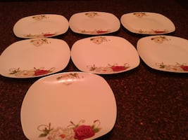Plates  (7 for $15.00)