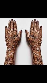 Mendhi tattoo 38 km