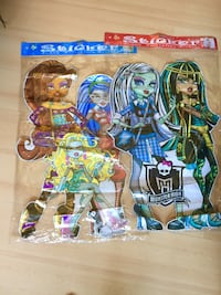 2 Stickers Grandes. Monster High (nuevos ) Hospitalet de Llobregat, 08902