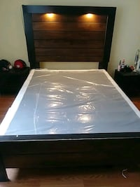 white and black bed mattress Long Beach, 90806