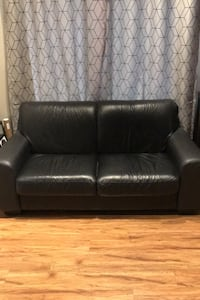 Italian Leather Love Seat