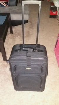 Black Carry On Luggage on Wheels