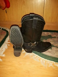 Men's harley boots size 8.5 Calgary, T2A 5S6