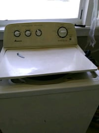 white and gray Whirlpool top-load washing machine Pelzer, 29669