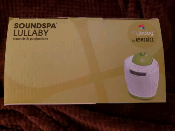 SOUNDSPA LULLABY SOUND AND PROJECTION MACHINE 1