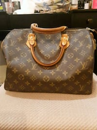 brown Louis Vuitton monogram leather handbag Silver Spring, 20906