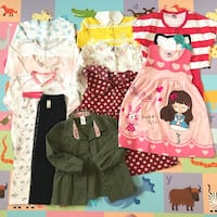 Carter's Toddle Girl Summer Dress lot 3T 12 Pieces