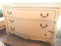 White wooden dresser with mirror Houston, 77056