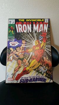 Marvel The Invincible Iron Man comic book