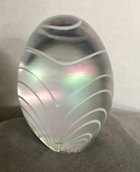 Etched  glass egg Long Beach, 90814