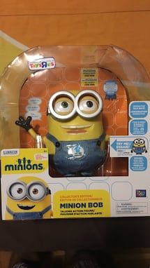 Minions bob collectible BIG toy figurine