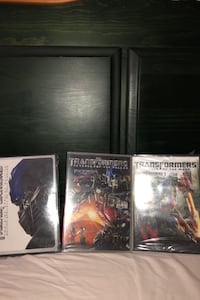 Transformers trilogy DVD disc NEVER OPENED