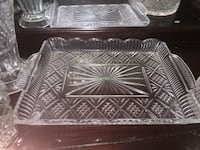 Shannon crystal server tray and bowl  Charlotte, 28213