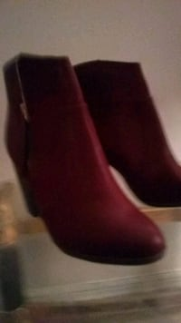 pair of brown leather boots New Paltz, 12561