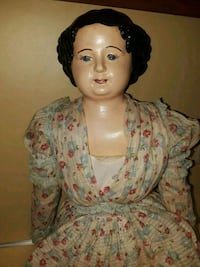 antique doll Hoover