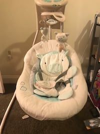 baby's white and gray cradle n swing Mc Lean, 22102