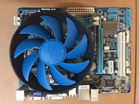Cpu + motherboard + cooling fan Mississauga