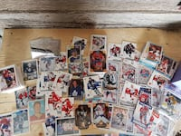ice hockey collectible card lot Bradford West Gwillimbury
