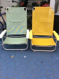 Two beach chairs  Lake Clarke Shores, 33406